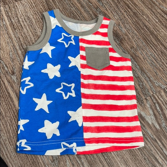 Cat & jack 4th of July tank top 💥⭐️